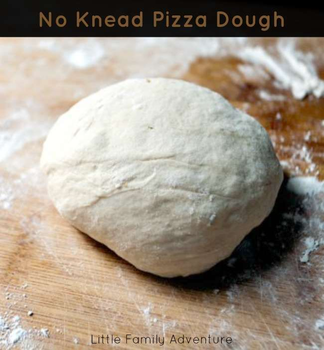 My recipe for No Knead Pizza Dough listed below is inspired by the ...