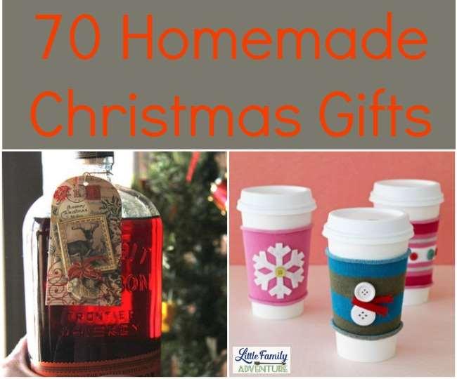 70 Homemade Christmas Gifts