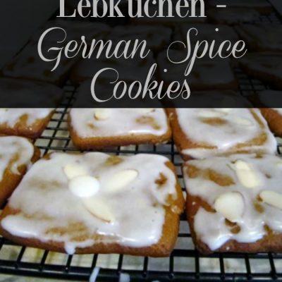Lebkuchen – German Spice Cookies