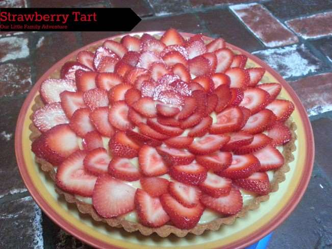 Strawberry Tart with Crème Pâtissière