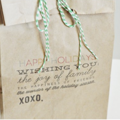 Homemade Food Gift Packaging: 5 Ways to Make A Brown Bag Spectacular