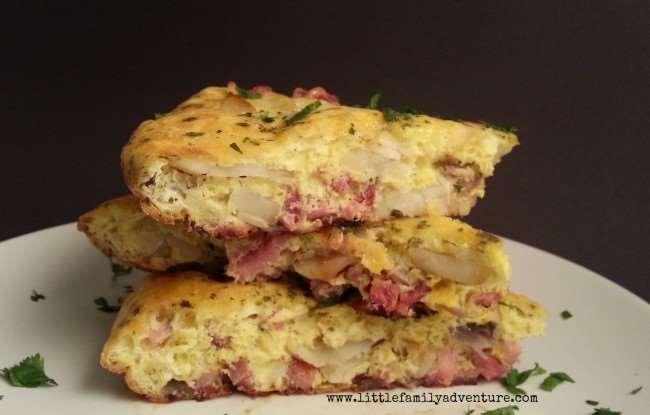 Spanish Tortilla with Ham