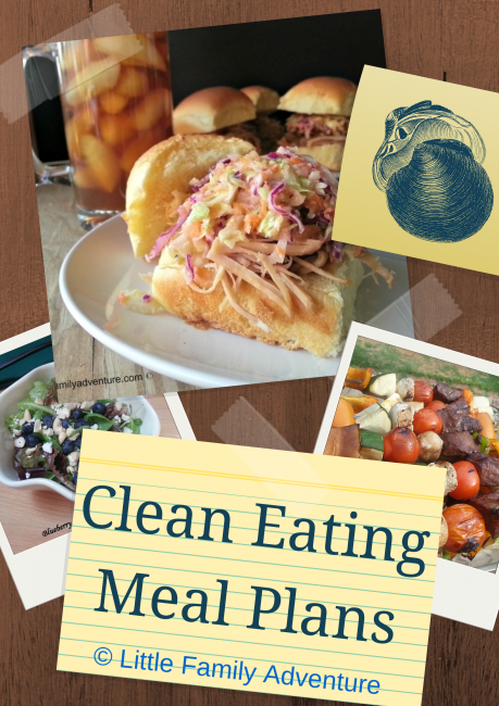 Clean eating, real food, meal planning, meal plans