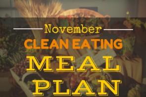 November Clean Eating Meal Plan