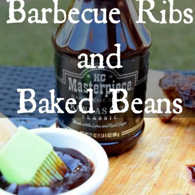 Slow Cooker Barbecue Ribs and Baked Beans