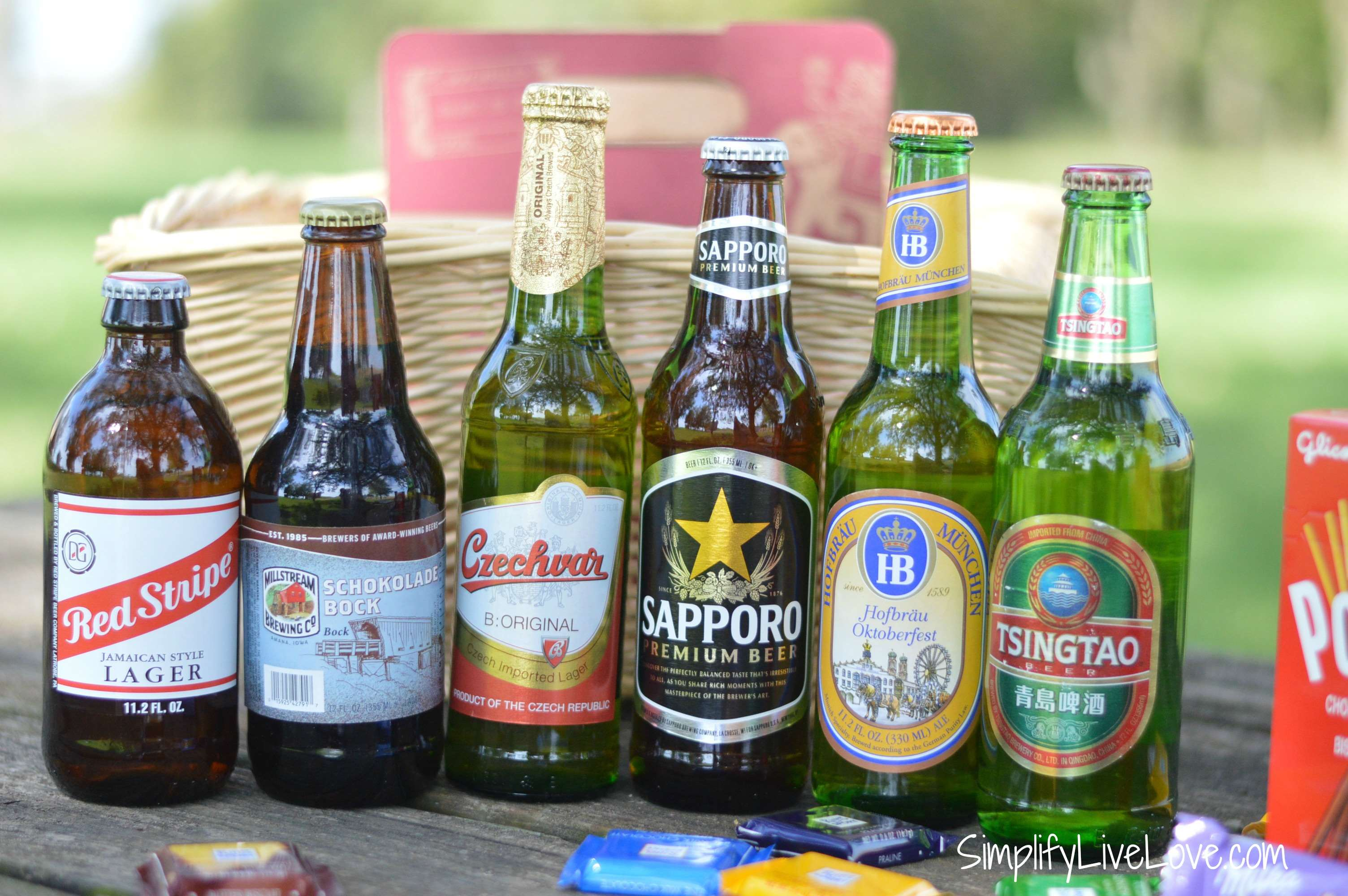 International beer for beer lovers gift basket