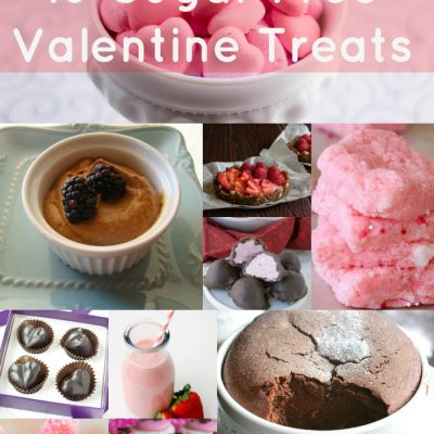 Yummy Sweets for Your Love – 10 Sugar Free Treats