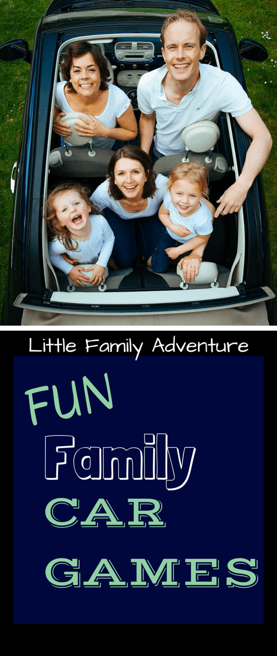 "A family road trip can be a lot of fun, but it can also be a little stressful. We have fun family car games you need to help alleviate stress and prevent ""Are We There Yet?"""