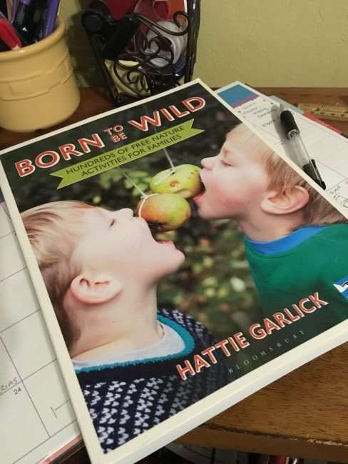 Born to Be Wild: Hundreds of FREE Nature Activities for Families by Hattie Garlick