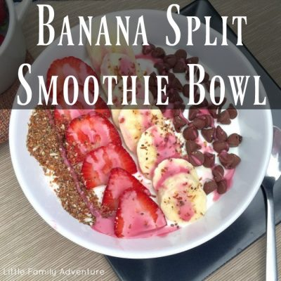 Banana Split Smoothie Bowl