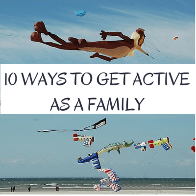 10 Spring Family Activities to Get Active Outdoors + Printable Calendar