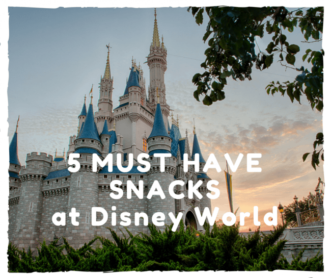 5 Must Try Snacks in Disney World