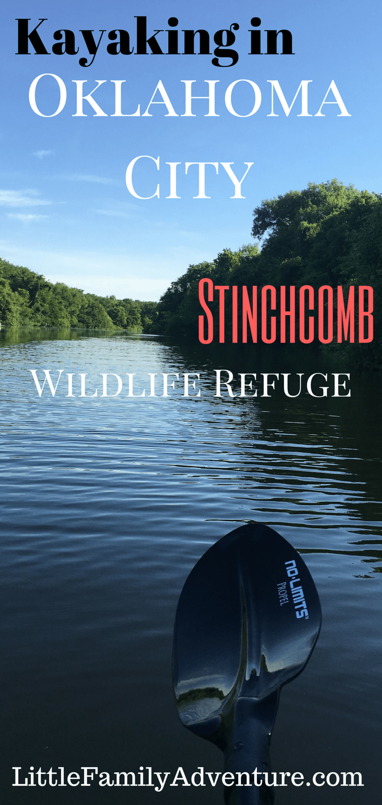 Kayaking in OKC - Stinchcomb Wildlife Refuge