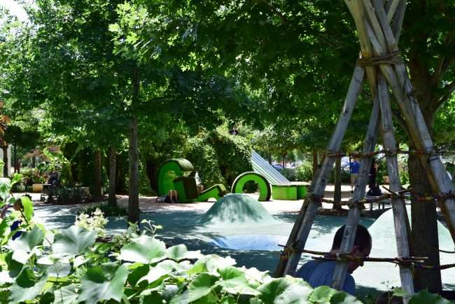 10 Family Fun Things to Do in Oklahoma City - Head downtown to the Myriad Botanical Gardens for playgrounds, gardens, concerts, events, and activities