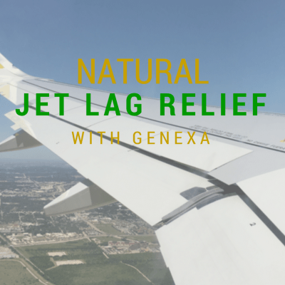Natural Jet Lag Relief with Genexa