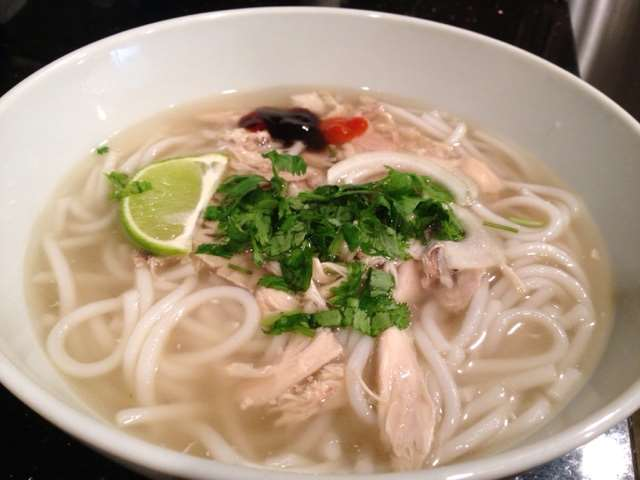 20-Minute Chicken Pho