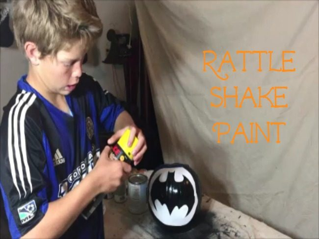 spray paint pumpkins easy way