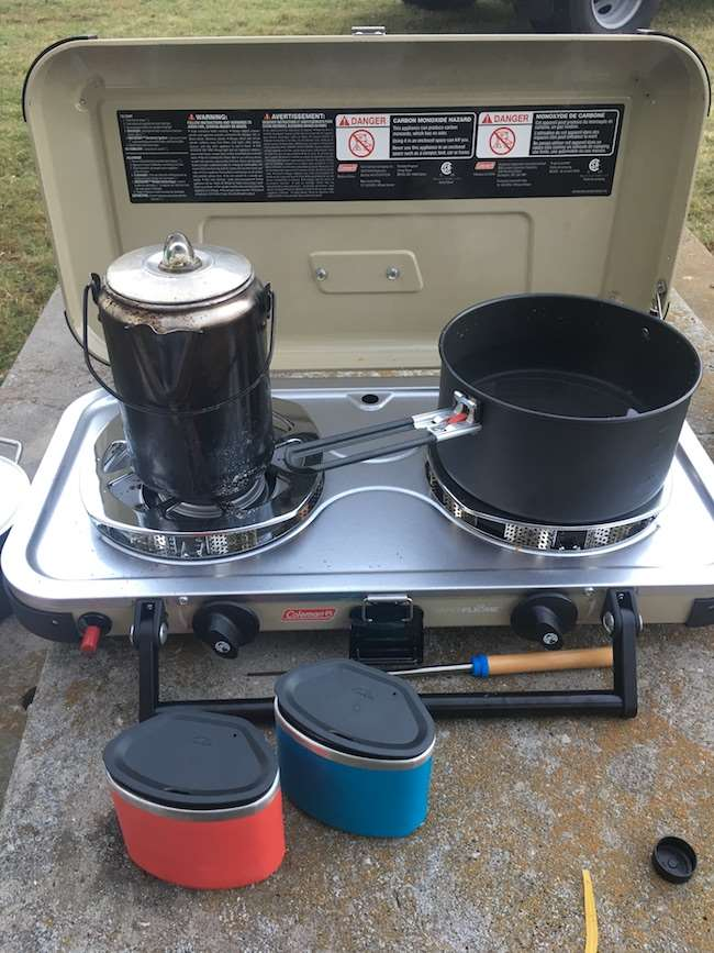 Make your next camping trip rock when you cook on this propane stove from Coleman. It makes camp cooking easier and faster. See how you can make light work on your next family camp out