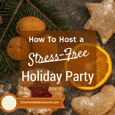 How to Host a Stress-Free Holiday Party