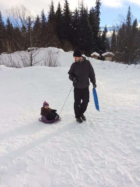 winter with kids