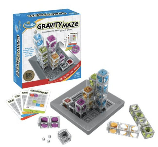 Gravity Maze - Great gift idea that supports creativity and building skills.