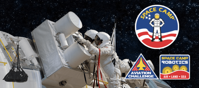Special Holiday Savings - give the gift of Space Camp. Hurry for the Black Friday Sale
