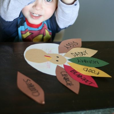Create this fun DIY Thankful Turkey Craft with your kids