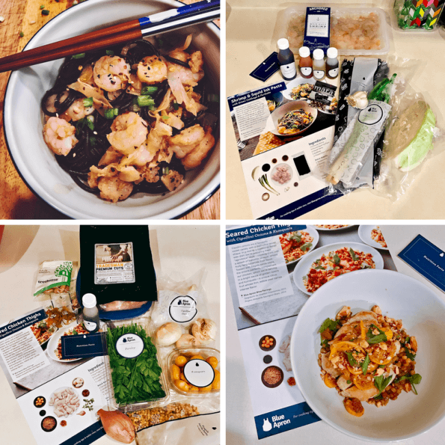 Home Cooking Delivered to Your Door with Blue Apron - See how this meal delivery service can help you cook healthy meals at home