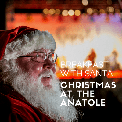 Christmas at the Anataole Dallas- Breakfast with Santa Experience