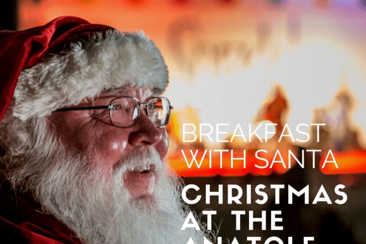 Christmas at the Anataole Dallas- Breakfast with Santa Experience