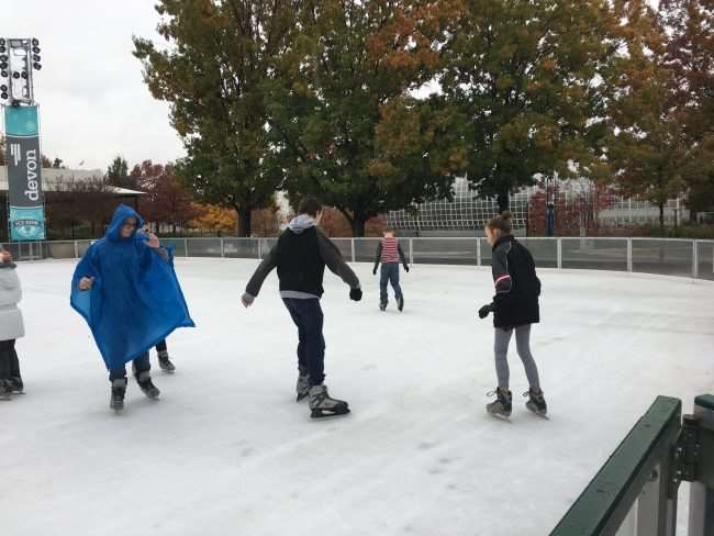 Holiday Things to Do In Oklahoma City - Head Downtown in December for Ice Skating in the Myriad Gardens