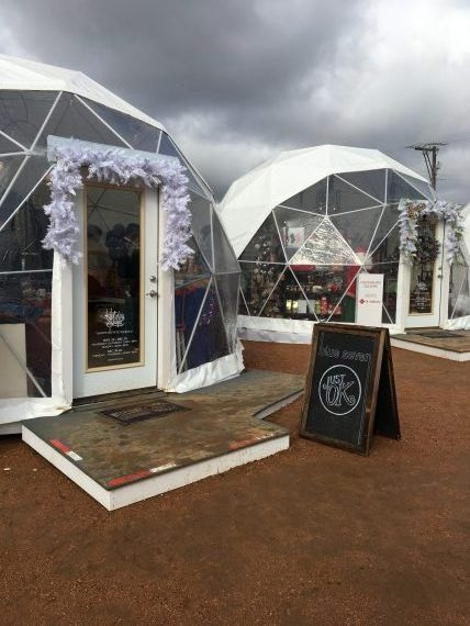 Holiday Pop Up Shops let you shop more local businesses and vendors - holiday fun things to do in Oklahoma City