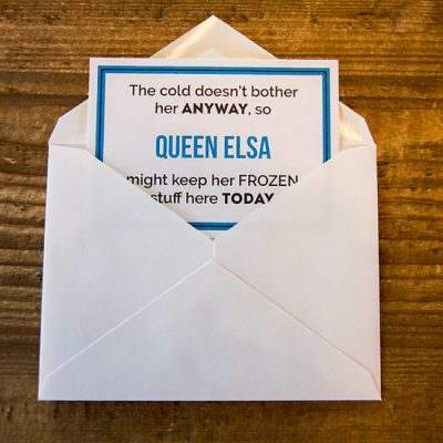 Looking for a BIG Disney Vacation Reveal Idea? You'll LOVE this Scavenger Hunt