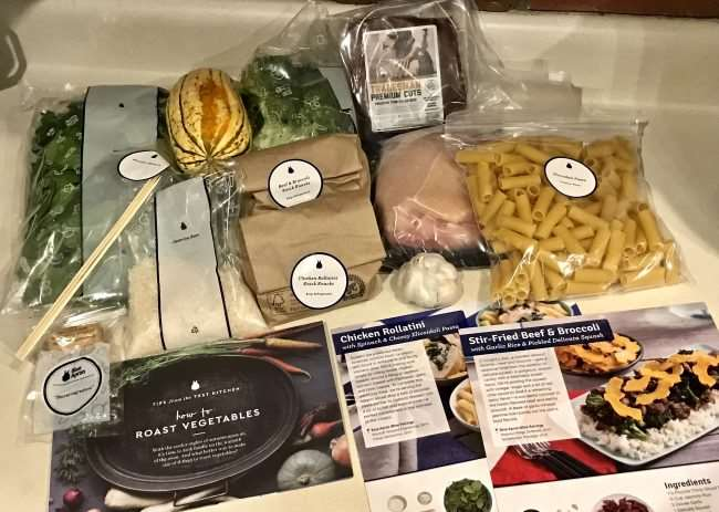 Home Cooking Delivered to Your Door with Blue Apron