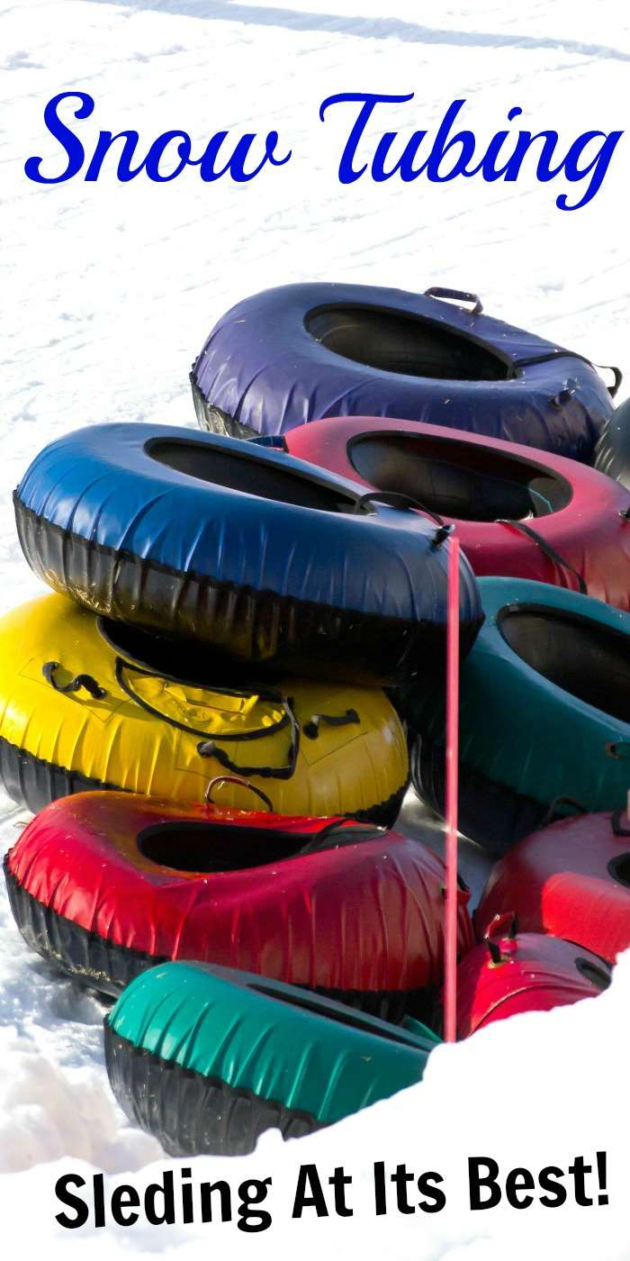 Snow Tubing: NOT to be Missed Winter Fun for All Ages - see why snow tubing is a winter family activity that is a hot for everyone and takes no skill