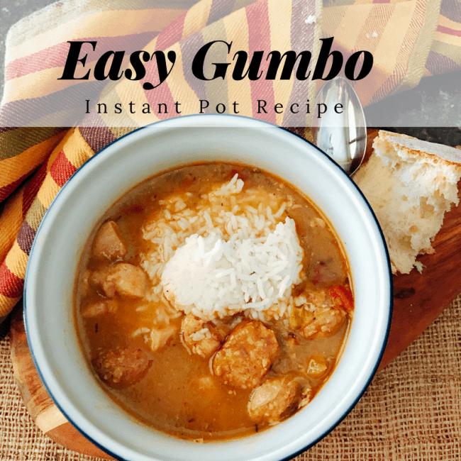Easy Gumbo Recipe (Instant Pot version)