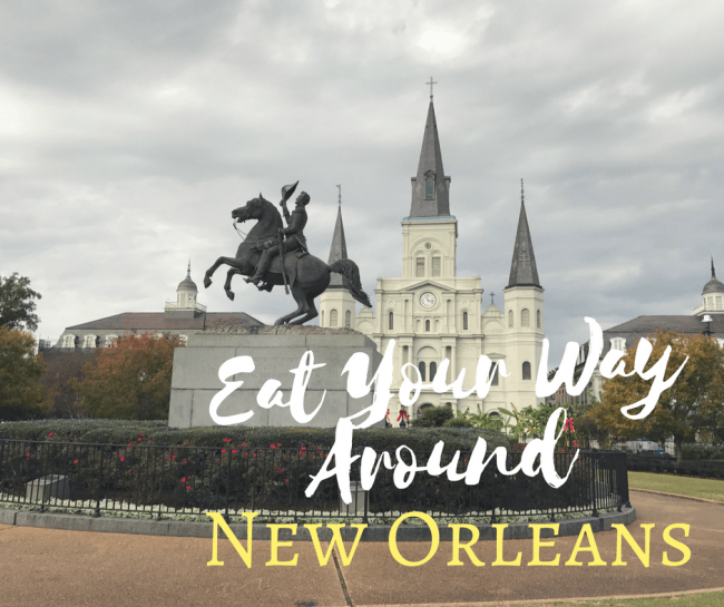 Eat Your Way Around New Orleans restaurants and taste how diverse the city's culinary scene is. If you are traveling to NOLA check out these restaurants we visited on a recent trip and are sure to go back to again and again