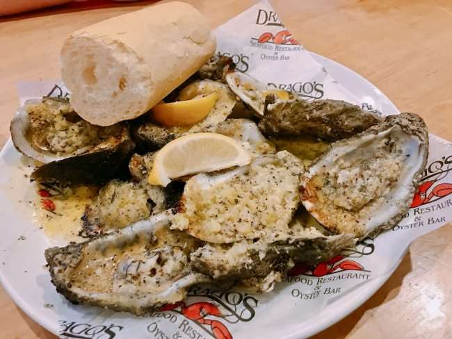 Draco's Charbroiled Oysters - Eat Your Way Around New Orleans and taste how diverse the city's culinary scene is. If you are traveling to NOLA check out these restaurants we visited on a recent trip and are sure to go back to again and again