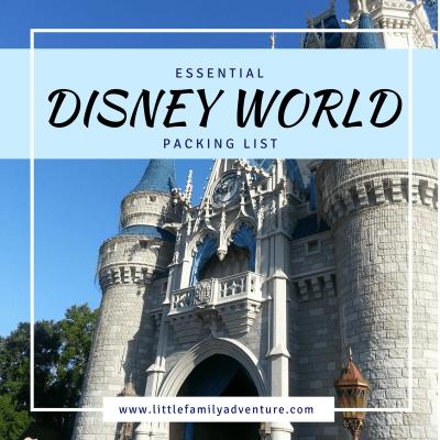 Essential Disney World Packing List