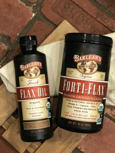 #EatCleanwithBarleans Giveaway - Barleans Forti-Flax and Barleans Flax Oil are both good ways to add vegan Omega 3's to your diet
