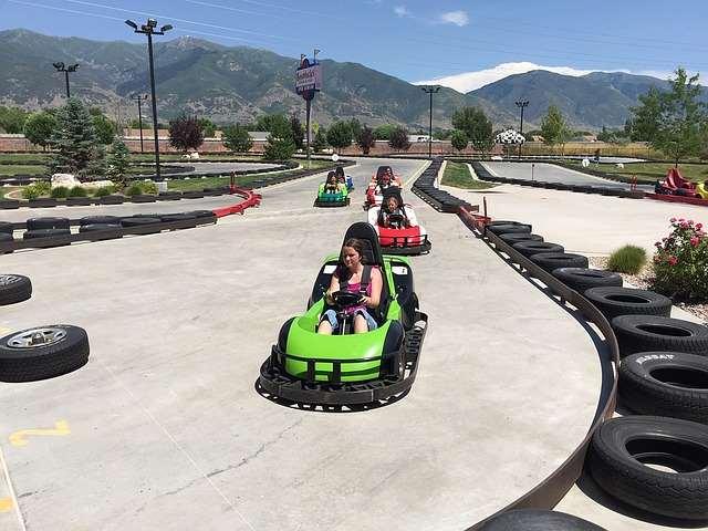 Grand Lake Colorado Travel Go kart fun family adventure