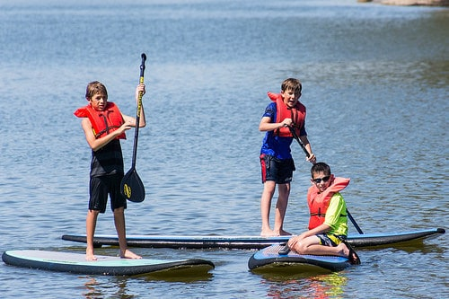 Stand Up Paddleboard with the kids - Enjoy Gulf Shores and Orange beach Alabama and experience family fun on this 3 Days itinerary filled with Fun Things to Do With Kids
