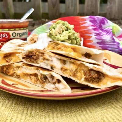 Breakfast Quesadilla Recipe for Camping or at Home