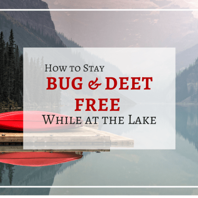 How to Stay Bug Free at the Lake