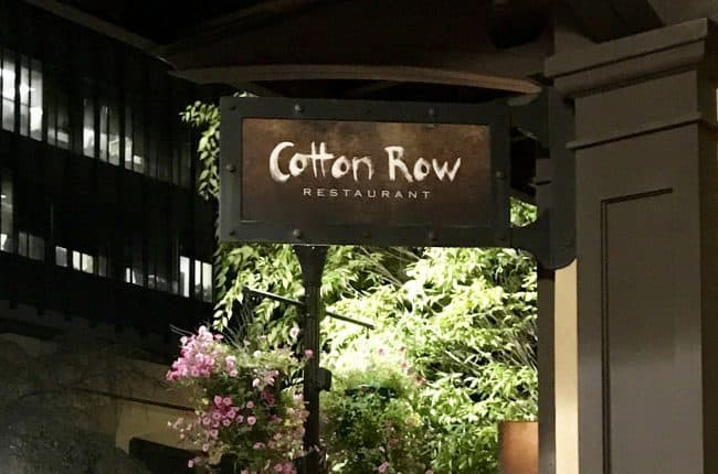 Cotton Row Restaurant is a MUST when in Huntsville, Alabama