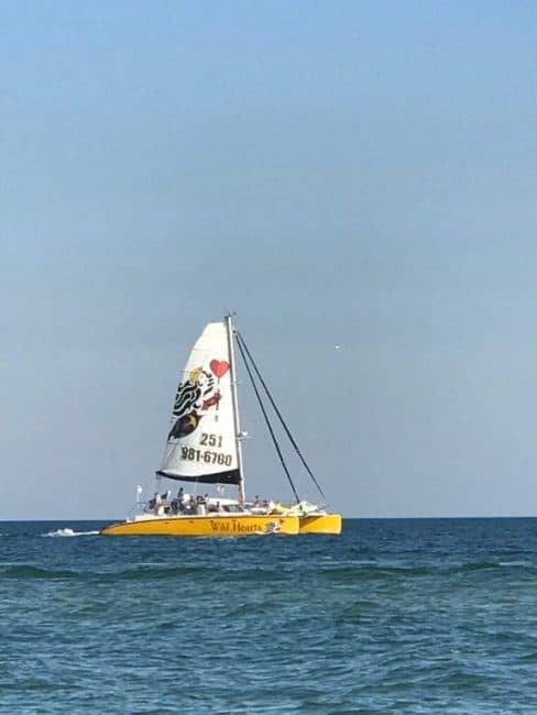 Sail Wild Hearts Catamaran - Enjoy Gulf Shores and Orange beach Alabama and experience family fun on this 3 Days itinerary filled with Fun Things to Do With Kids
