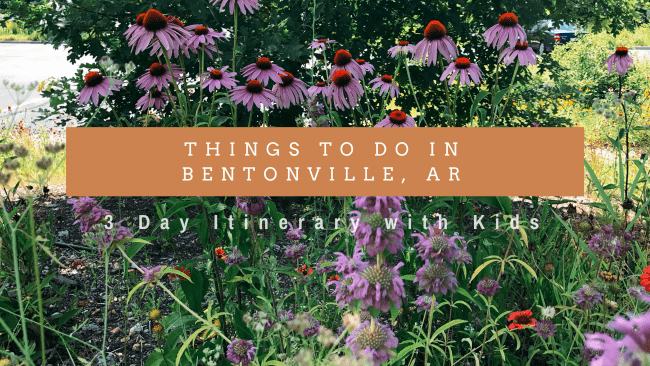 Things to Do in Bentonville, AR with Kids - This 3 day itinerary features some of the best sites, attractions, and dining in Bentonville and Rogers, AR.