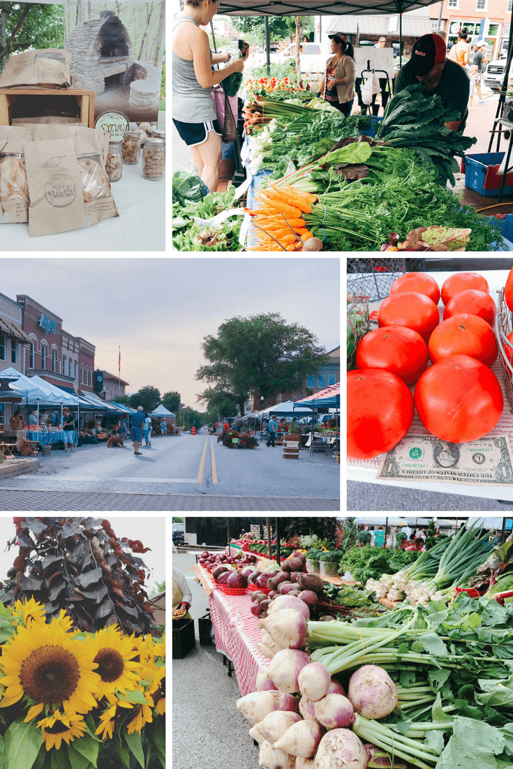 Bentonville Farmer's Market on Bentonville Square