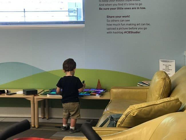 Experience Art Studio at the Crystal Bridges Museum of American Art