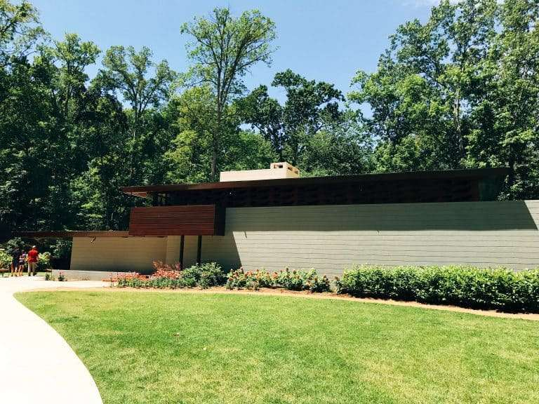 Frank Lloyd Wright House At The Crystal Bridges Museum Of